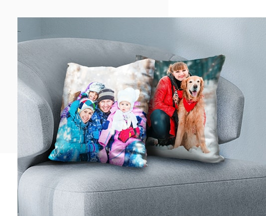 Amazing High-Quality Photo Pillows