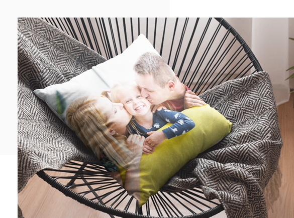 Custom Photo Pillows for Every Room